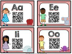 """O """"FISH"""" ally a First Grader: QR Codes! New Pack + Freebie!"""