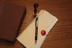 Wax seal, and letters from my kindred spirit.