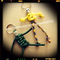 Paracord Zombies/skeletons