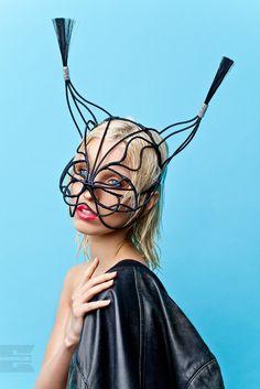 Headpiece by YanaMarkova - trot mask https://instagram.com/yana_markova_art/   Маска - Яна Маркова. headdress / headpiece /головные уборы / style