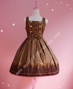Rococo Soul United States of Chocolate JSK Dress Out