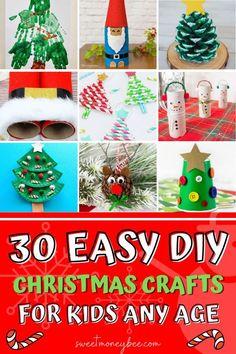 Christmas Treat Bags, Frugal Christmas, Christmas Crafts For Kids, Simple Christmas, Holiday Crafts, Holiday Ideas, Christmas Ideas, Xmas, Plate Crafts