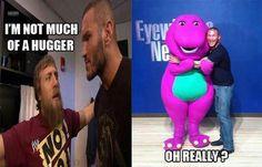 Rand Orton and Daniel Bryan