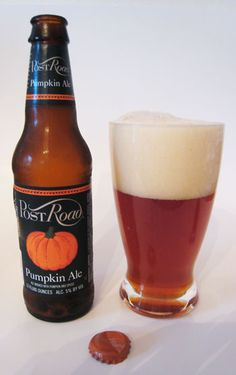 Post Road Pumpkin Ale by Brooklyn Brewing Company. The best Pumpkin beer I've ever had.
