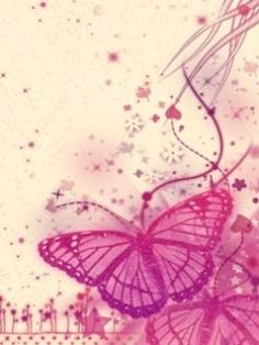 Pink Butterfly Backgrounds | ... Pink Butterfly Mobile Phone Wallpapers 240x320 Hd Wallpaper Images
