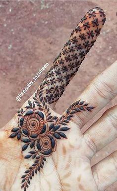 Henna Hand Designs, Dulhan Mehndi Designs, Mehandi Designs, Mehndi Designs Finger, Khafif Mehndi Design, Floral Henna Designs, Beginner Henna Designs, Latest Bridal Mehndi Designs, Modern Mehndi Designs