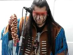 Native American Indian Music.  I have been searching for a couple of months now for who this artist/band is.  All I find is this vid and it's written in a middle eastern language I can't decipher.  If anyone knows who this is I would LOVE to find out!