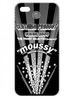 moussy Case for iPhone5ケース(iPhone5/BK)