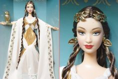 mythology barbies | Original articles from our library related to the Goddess Of Wisdom ...
