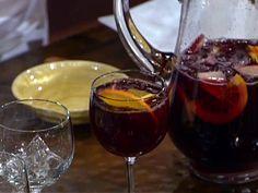 Sangria Recipe : Emeril Lagasse : Food Network Best sangria ever! Best Sangria Recipe, Red Sangria Recipes, Red Wine Sangria, Cocktail Recipes, Cocktails, Brandy Sangria, Homemade Sangria, Sparkling Sangria, Sangria Drink