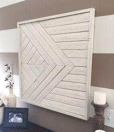 Reclaimed wood wall art wooden wall decor modern wall decor