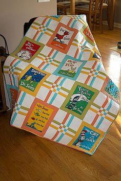 (7) Name: 'Quilting : Celebrate Seuss - Crib/Toddler Quilt
