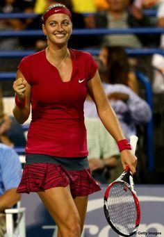 Petra Kvitova, Czech tennis player.