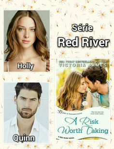 Victoria James / Série Red River / 01 - A Risk Worth Taking / Quinn : Ferran Calderon / Holly : Nathalie Edenburg