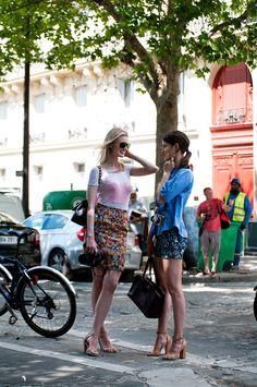 Who likes skirts and prints?
