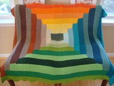 Ravelry: Joseph's Blankie of Many Colors pattern by Kay Gardiner and Ann Shayne