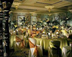 Light green wedding decor