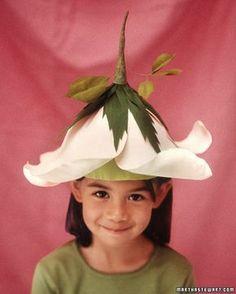 flower hat for fairy dress up
