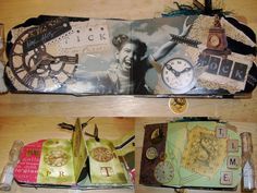 Part bookbinding, part bibliovandalism, part mixed-media collage, and part scrapbooking, the craft of altered books is becoming increasingly popular and re