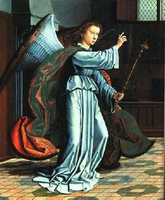 David, Gerard (1450c.-1523) - 1506 ANNUNCIATION (Metropolitan Museum of Art NYC)