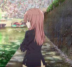 / Koe no Katachi // A Silent Voice // Shouko Nishimiya Otaku Anime, Kyoani Anime, Anime Gifs, Anime Kawaii, All Anime, Anime Art, Manga A Silent Voice, A Silence Voice, The Garden Of Words