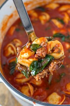 Fall Soups Guaranteed to Warm You Right Up You won't get enough of this tortellini soup with Italian sausage and spinach.You won't get enough of this tortellini soup with Italian sausage and spinach. Healthy Diet Recipes, Cooking Recipes, Healthy Fall Soups, Cooking Tips, Cooking Okra, Easy Stew Recipes, Beef Soup Recipes, Chowder Recipes, Simply Recipes