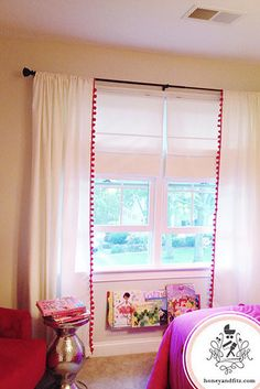Add a fun border to plain curtains. | 31 Brilliant Ikea Hacks Every Parent Should Know