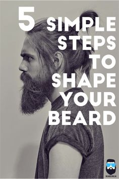 Here is a step wise instruction on how to style up the beard. How to Shape a beard in 5 Quick Steps Best Beard Styles, Hair And Beard Styles, Trimming Your Beard, Beard Shapes, Beard Tips, Beard Haircut, Epic Beard, Beard Love, Man Beard