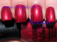 Nubar Sultry Red (Shimmery Medium Berry Red)