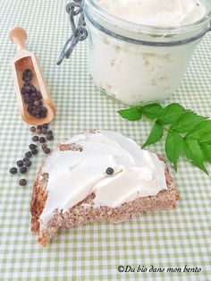 Cream cheese maison Bento, Perfect Food, Camembert Cheese, Pudding, Sauces, Desserts, Recipes, Girly, Nice