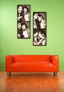 Custom canvas prints make great holiday .This is an example of an 18x36,