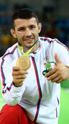 DAVOR ŠTEFANEK - GOLD MEDAL, Greco-Roman wrestling, 2016 Olympic Games in Rio de Janeiro ---------------------------- ДАВОР ШТЕФАНЕК - ЗЛАТНА МЕДАЉА, рвање грчко-римским стилом, Олимпијске игре у Рију 2016
