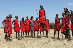 Masai Warriors by rabbit.Hole, via Flickr