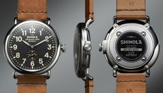 The Runwell 47mm Limited Edition | Shinola®. Made in America by hands in Detroit.