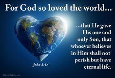 <3 John 3:16 <3