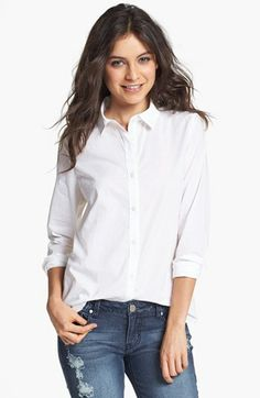 BP. Collared Shirt (Juniors) available at #Nordstrom