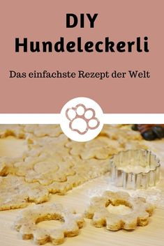"""Hundekekse """"kinderleicht - The Best Diy Dog Recipes Dog Snacks, Dog Treats, Pumpkin Recipes For Dogs, Oven French Toast, Dog Cakes, Dog Biscuits, Evening Meals, Diy Food, Raw Food Recipes"""
