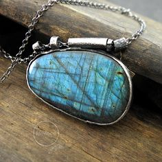 RESERVED For Susan .... Labradorite necklace by studioformood