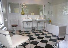 Fantastically unique bathroom