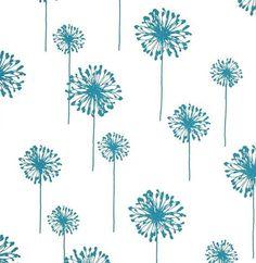 dandelion cotton fabric - 1/2 yd $5 - drapery fabric - etsy shop fabricsbytheyard