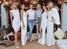 Paris Hilton, Olivia Culpo, Erin Foster, Whitney Port, Victoria Justice, Sara Foster, Coachella 2018