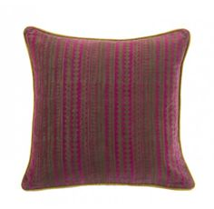 Cuba Square #cushion #linenandmoore #winter
