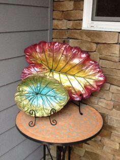 Concrete Leaf:  Loving the pastel colors.  Website:  MoLeaves.com