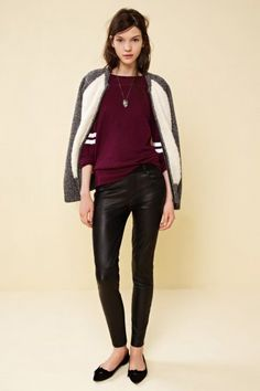 Madewell's Fall Lookbook - I'm guessing the inspiration on this look came from both Sandys in Grease.