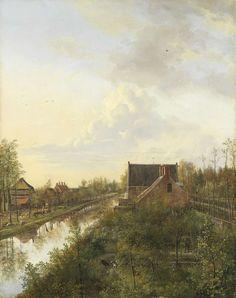 Artist: Pieter Gerardus van Os (1776–1839)  · Title: 's-Grave (1818)