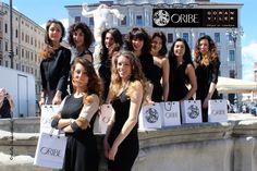Ronnie Stam, hairstylist delle dive e art director di Oribe Hair Care, ha tenuto un esclusivo workshop presso la Goran Viler Hair SPA di Trieste: ecco le foto delle nostre bellissime modelle! #hair #model #oribe #goranviler
