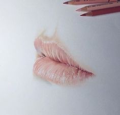 Salome Jessjerry dibujo realista de labios