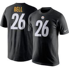 Nike Men's Pittsburgh Le'Veon Bell #26 Pride Black T-Shirt, Size: Medium, Team