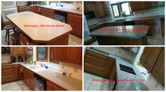 Granite Transformations just finished this new look kitchen in Farmington, MN with Terra di Siena engineered stone and an under-mount Cafe Brown Silgranite DE sink from Blanco.  Great work team!