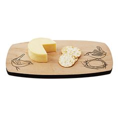 WREN CHEESE BOARD | bird chopping board | UncommonGoods